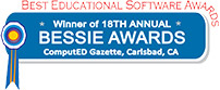 Bessie Best Educational Software Award in 2018