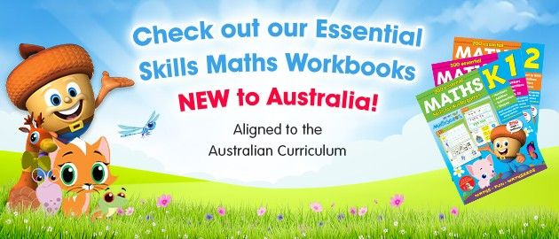 Check out our Essential Skills Maths Workbooks - NEW to Australia! Aligned to the Australian Curriculum